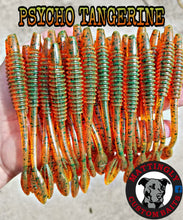 "Psycho Tangerine 5.25"" Alpha Pup Worms"