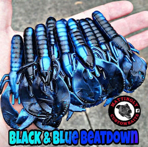 Black & Blue Beatdown Craws