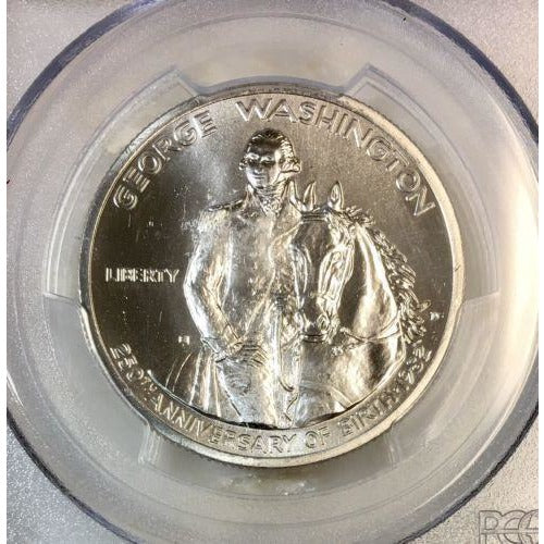 1982 D Washington Half Dollar PCGS MS69 #952269