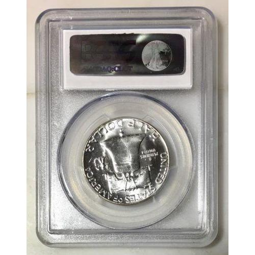 1962 Frankin Half Pcgs Ms65 *rev Tyes* #912450 Coin