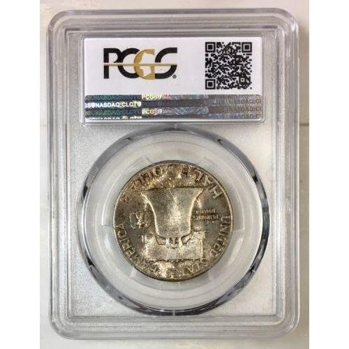 1949 S Franklin Half Dollar Pcgs Ms65 *rev Tyes* #9804126 Coin