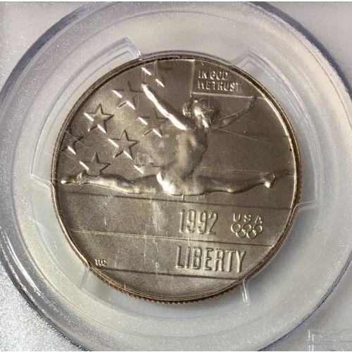 1992 P Olympic Half Dollar PCGS MS70 #956139