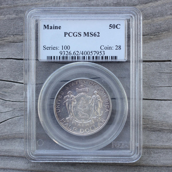 1920 Main Commemorative Pcgs Ms62 *rev Tyes* #7953132 Coin