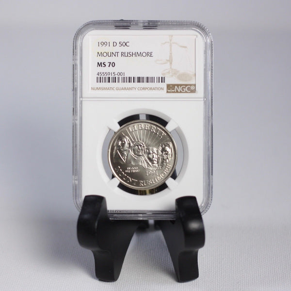 1991 D Mt. Rushmore Ngc Ms70 #5001143 Coin