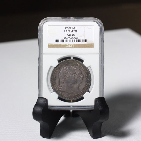 1900 Lafayette Commemorative Dollar Ngc Au55 *rev Tyes* #8001499 Coin