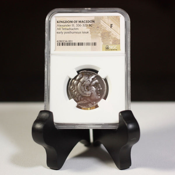Kingdom Of Macedon Alexander Iii 336-323 Bc Ngc F #4001264 Coin
