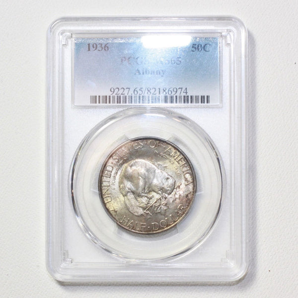1936 Albany Half Dollar Pcgs Ms65 *rev Tyes* #6974250 Coin