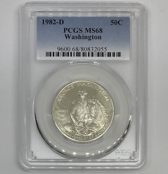 1982 D Washington Half PCGS MS68 *Rev Tye's* #2055