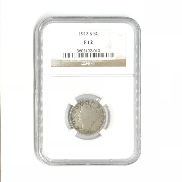 1912 S Liberty Nickel NGC F12 *Rev Tye's* #2010165