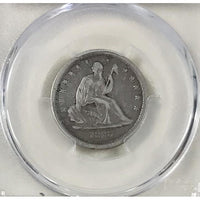 1838 Seated Liberty Quarter Pcgs Vf35 *rev Tyes* #8342276 Coin
