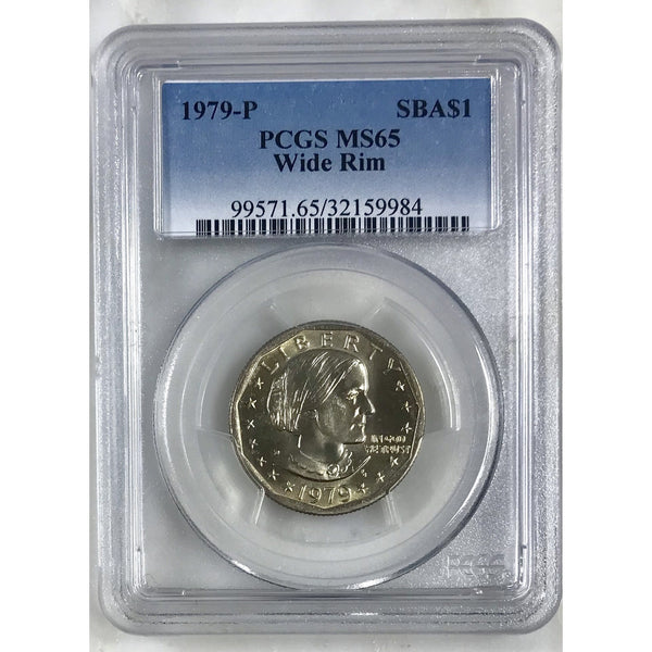 1979 Susan B Anthony Pcgs Ms65 Wide Rim #998453