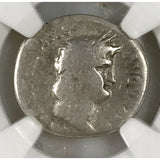 Twelve Caesars Nero Ad 54-68 Ngc Vg *rev Tyes* #9002 Coin