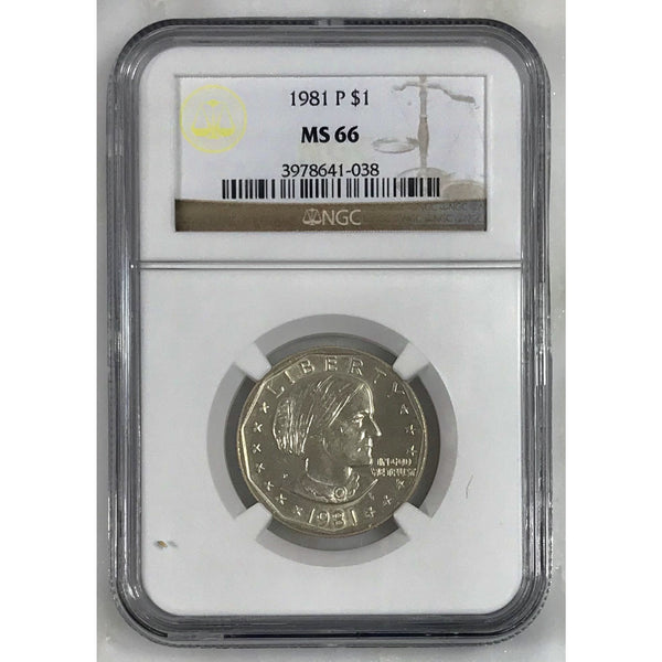1981 Susan B. Anthony Ngc Ms66 #103835
