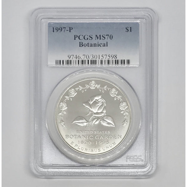 1997 P Botanical Dollar PCGS MS70 *Rev Tye's* #7598145