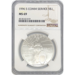 1996 S Community Service Dollar Ngc Ms69 *rev Tyes* #301970