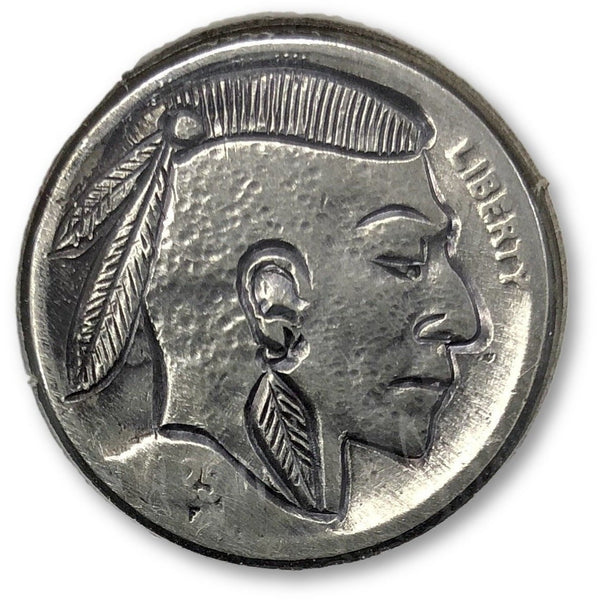 Mohawk Buffalo-Hobo Nickel *rev Tyes* #hbn35400