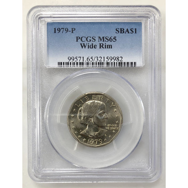 1979 Susan B Anthony Pcgs Ms65 Wide Rim #998253