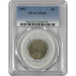 1903 Liberty Nickel PCGS MS62 *Rev Tye's* #9703