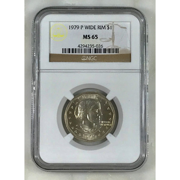 1979 Susan B Anthony Ngc Ms65 *rev Tyes* #502653