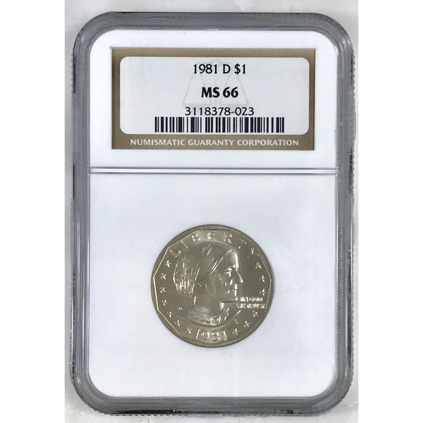 1981 D Susan B Anthony Ngc Ms66 #802315 Coin