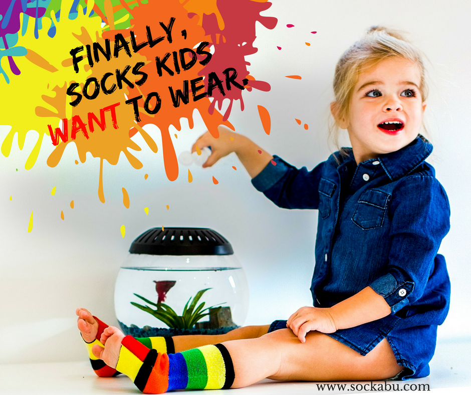 Cool NEW Sock for Kids! |  Introducing Sockabu