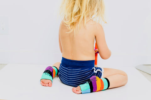 cool, seamless sock for kids they can cover and uncover their toes for best traction and grip.