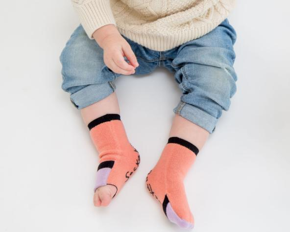 Baby Gripper Sock| Beach Babes | Gripper Sock | Sockabu