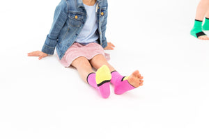Big Kids | Girl Power | Gripper Sock | Sockabu