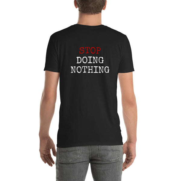 StopDoingNothing Simple Short-Sleeve Unisex T-Shirt