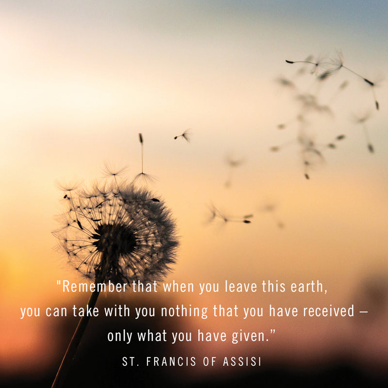 August – St. Francis