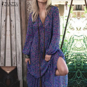 Blissful Boheme Peasant Tunic Dress