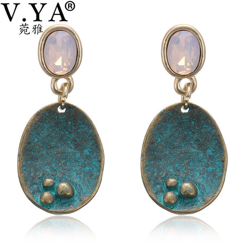 Opal Boheme Vintage Style Earrings