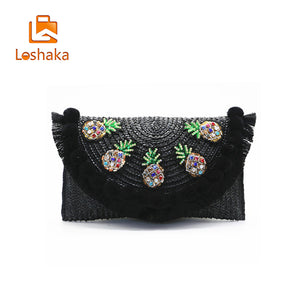 Pineapple Passion Jewel Clutch
