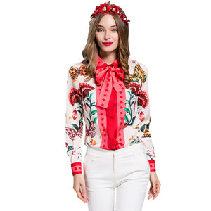 Garden Queen Tea Blouse