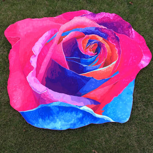 Bright Rose Blanket
