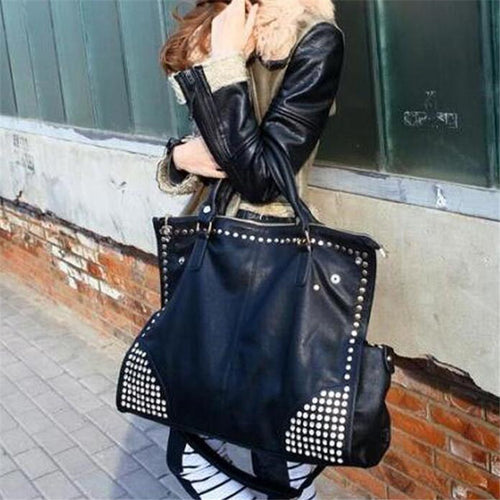 Studded XL Tote Bag