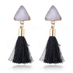 Dayoff Faux Druzy Earrings