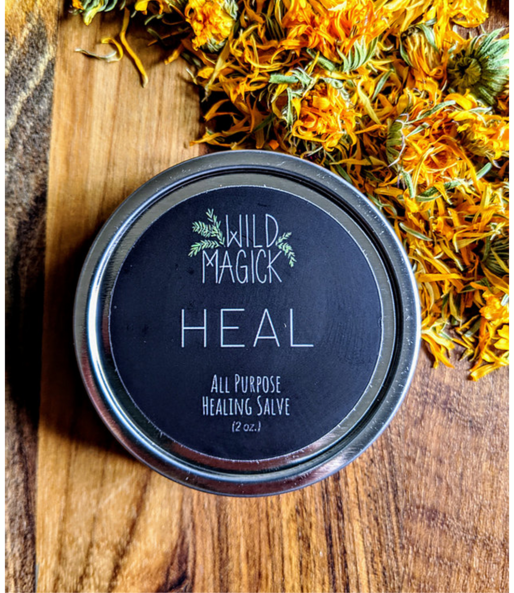 Heal Salve :: The Wild Magick