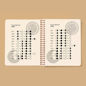 Serpentine Open Dated 12 Month Planner