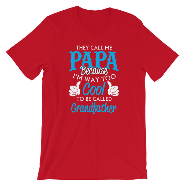 They Call me Papa T-Shirt for Men