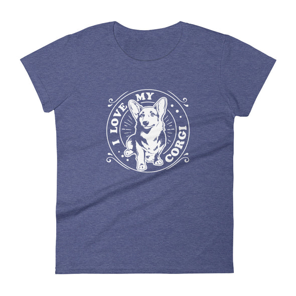 I Love My Corgi T-Shirt for Women