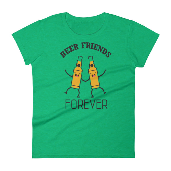 Beer Friends Forever Women's T-Shirt
