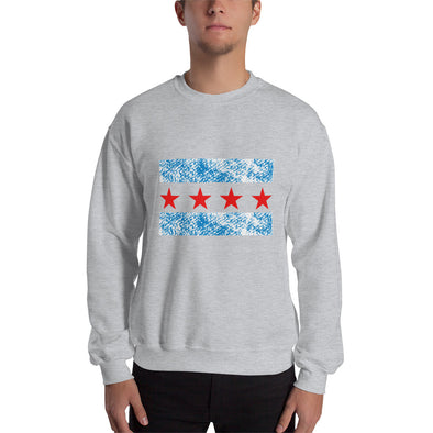 Chicago Flag Sweatshirt for Men