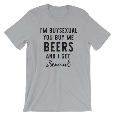 I'M Buysexual Unisex Funny Bisexual T-Shirt