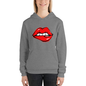 Kissing Lips Hoodie for Women
