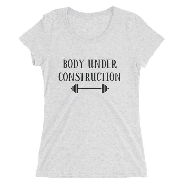 Body Under Construction Women's TShirt