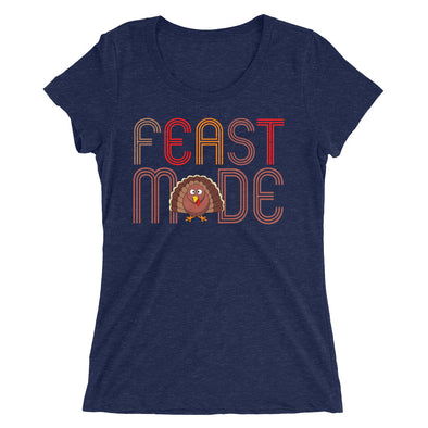Feast Mode Thanksgiving T-Shirt for Women