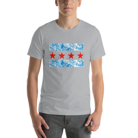 Chicago Flag T-Shirt - Short-Sleeve T-Shirt for Men
