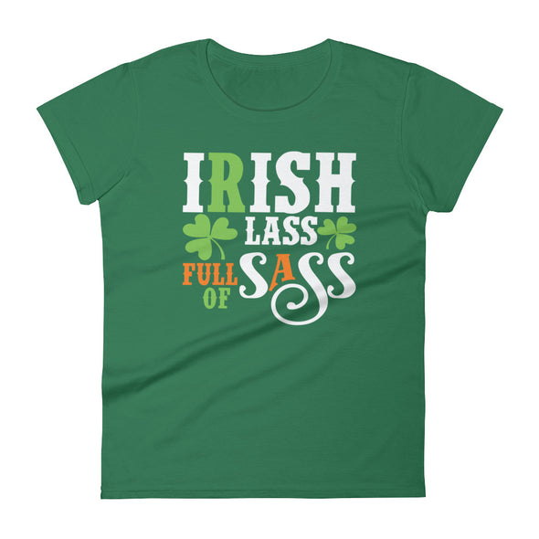Irish Lass Full of Sass T-Shirt for Women