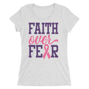 Faith Over Fear T-Shirt for Women